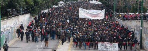 """""""Η Αθήνα σε ανθρωπιστική κρίση"""""""