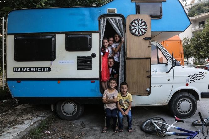 Μέρος της σειράς φωτογραφιών από το οδοιπορικό του Caravan Project στα Πομακοχώρια