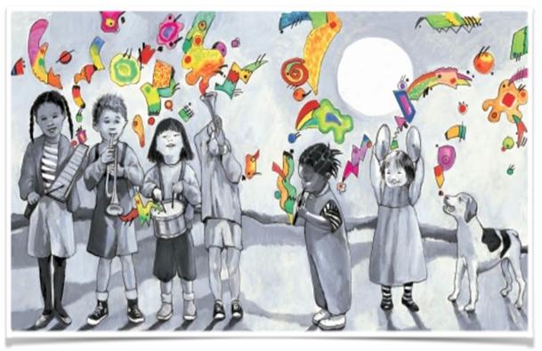 παιδιά - χρώματα