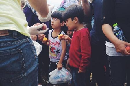 Εθελοντές Κιλκίς Θεσσαλονίκης Σύροι Πρόσφυγες
